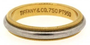 We buy Tiffany Gold Ring